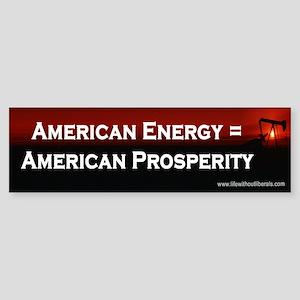 American Energy Bumper Sticker