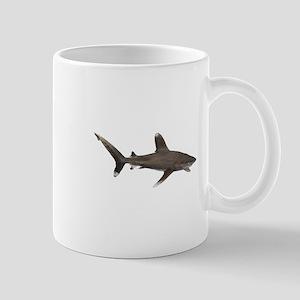 Oceanic Whitetip Shark Aquamarine Marine Life Mugs