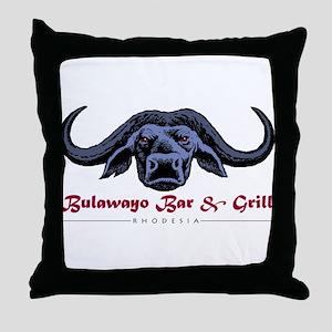 Bulawayo Rhodesia Throw Pillow
