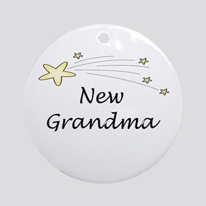 New Grandma Ornament (Round)