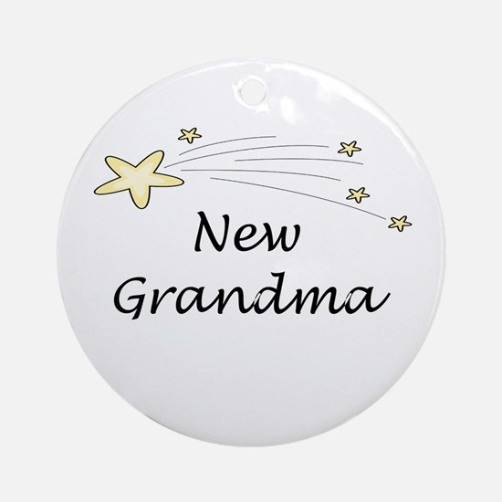 New Grandma Ornament (Round)