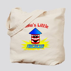 Mama's Little Firecracker Tote Bag
