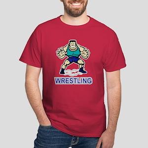 Funny Wrestling Dark T-Shirt