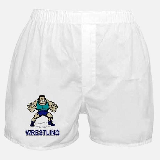 Funny Wrestling Boxer Shorts