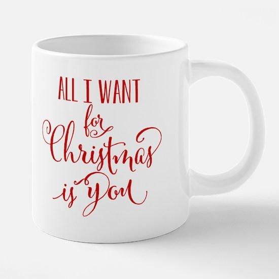 All I Want For Christmas Is 20 oz Ceramic Mega Mug