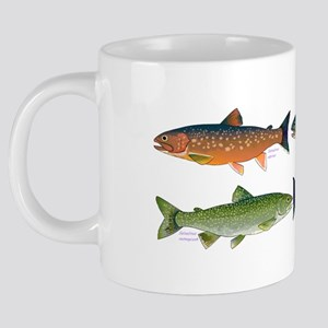 4 Char fish 20 oz Ceramic Mega Mug
