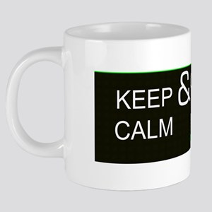 Keep Calm And Game On Mug 20 oz Ceramic Mega Mug