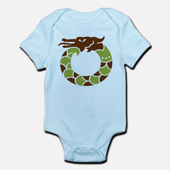 Lucky Chinese Dragon - Infant Bodysuit