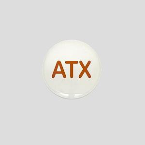 ATX - Austin Texas Mini Button