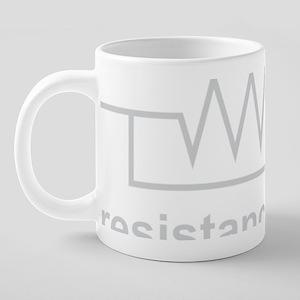 Resistance is Futile 20 oz Ceramic Mega Mug