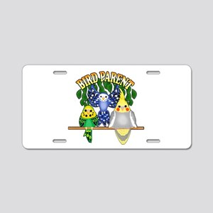 Bird Parent Aluminum License Plate