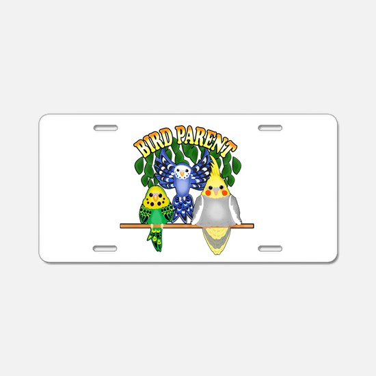 Bird Parent Aluminum License Plate