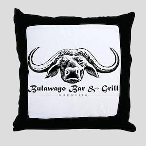 Bulawayo-Zimbabwe Throw Pillow