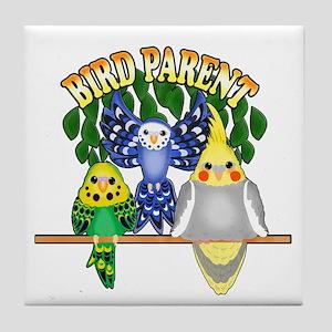 Bird Parent Tile Coaster