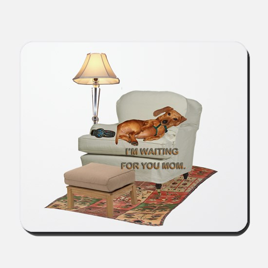TV Doxie Mousepad