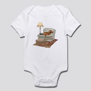 TV Doxie Infant Bodysuit