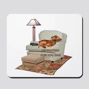 TV Doxie Dad Mousepad