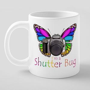Shutterbug1Mug 20 oz Ceramic Mega Mug