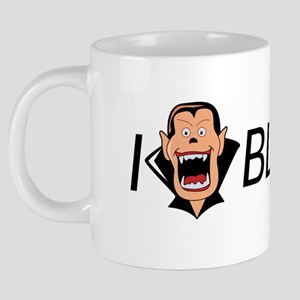 Copy of iHEARTblood 20 oz Ceramic Mega Mug