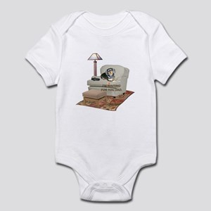 TV Dad Doxie Infant Bodysuit