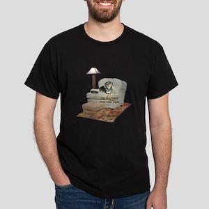 TV Dad Doxie Dark T-Shirt