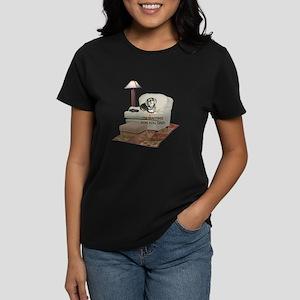 TV Dad Doxie Women's Dark T-Shirt