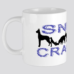 Sniff Crack 20 oz Ceramic Mega Mug