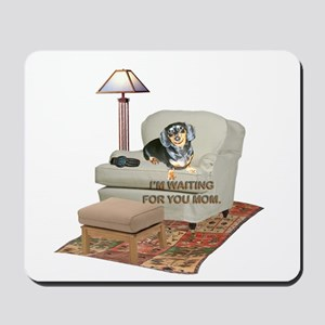 TV Mom Doxie Mousepad