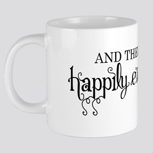 Happily every after 20 oz Ceramic Mega Mug