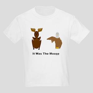 Eagle Blames Moose Kids Light T-Shirt