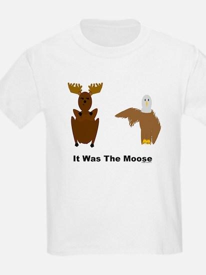 Eagle Blames Moose T-Shirt