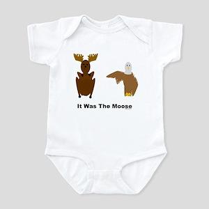 Eagle Blames Moose Infant Bodysuit