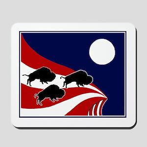 Buffalo Jump Mousepad