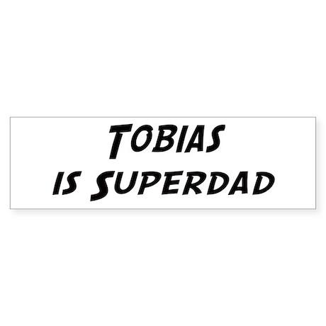 Tobias is Superdad Bumper Sticker