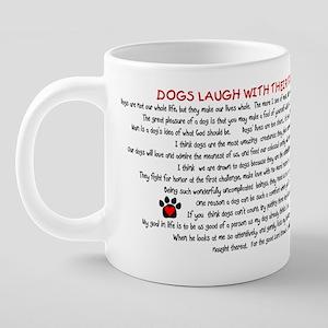 CUPdog-isms.png 20 oz Ceramic Mega Mug