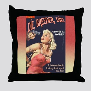 Breeder Throw Pillow