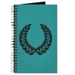 Teal with Black Journal