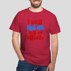 Prostate Cancer -- Friend Dark T-Shirt