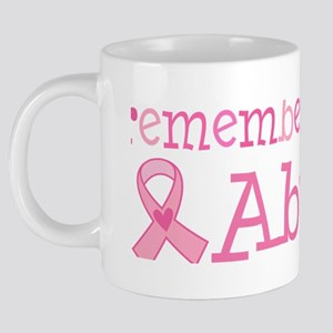 remembering Abuela pink 20 oz Ceramic Mega Mug