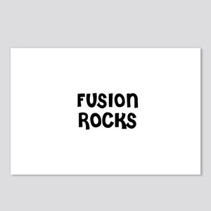 FUSION ROCKS Postcards (Package of 8)