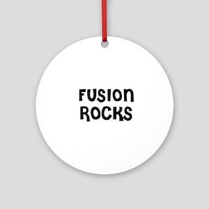 FUSION ROCKS Ornament (Round)
