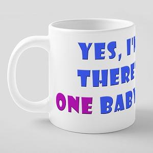 onebaby 20 oz Ceramic Mega Mug
