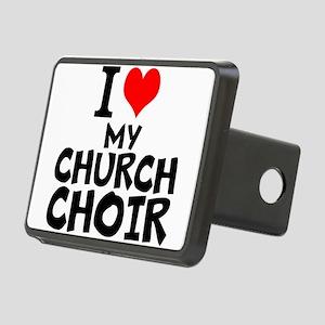 I Love My Church Choir Hitch Cover