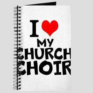 I Love My Church Choir Journal