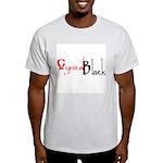 CynicalBlack Logo Ash Grey T-Shirt