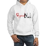 CynicalBlack Logo Hooded Sweatshirt