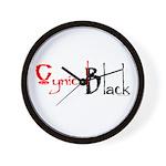 CynicalBlack Logo Wall Clock