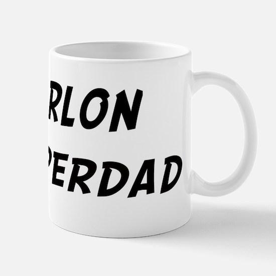 Marlon is Superdad Mug