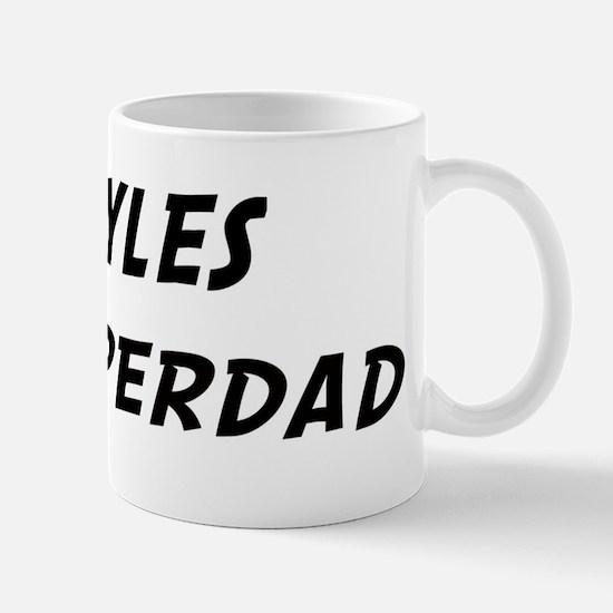Myles is Superdad Mug