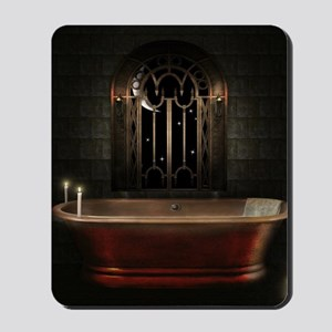 Gothic Bathtub Mousepad